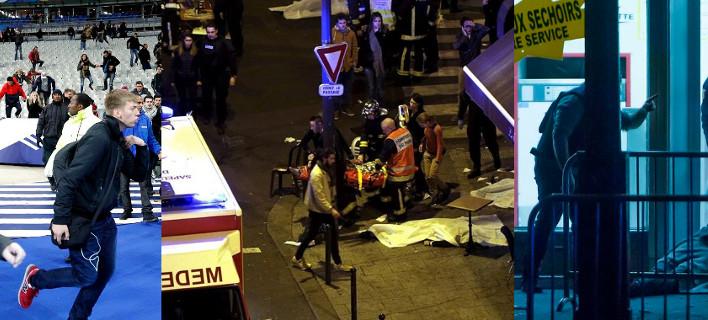Μακελειό στο Παρίσι -Τουλάχιστον 127 νεκροί σε έξι επιθέσεις τρομοκρατών