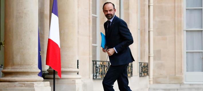 Ο Εντουάρ Φιλίπ (Φωτογραφία: AP Photo/Thibault Camus)
