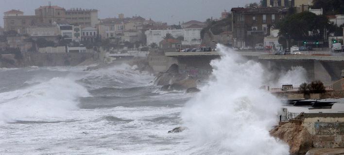 Η καταιγίδα Κάρμεν αναμένεται να πλήξει όλη τη Γαλλία/ Φωτογραφία: AP