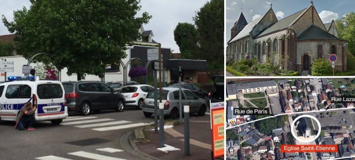 Γαλλία: Δύο ένοπλοι έσφαξαν ιερέα σε εκκλησία -Φώναζαν «ISIS»