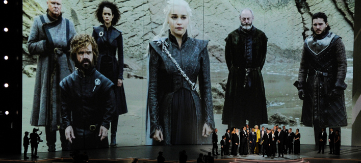 Στιγμιότυπο από τα τελευταία βραβεία ΕΜΜΥ / Φωτογραφία: AP Images