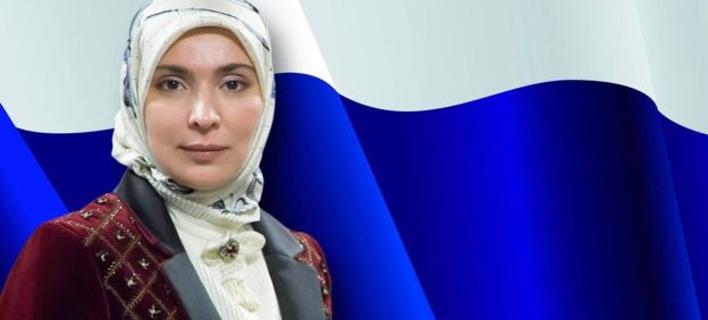 Η 46χρονη Αϊνα Γκαμζάτοβα  (Φωτογραφία: Facebook islam.ru ислам.ру)