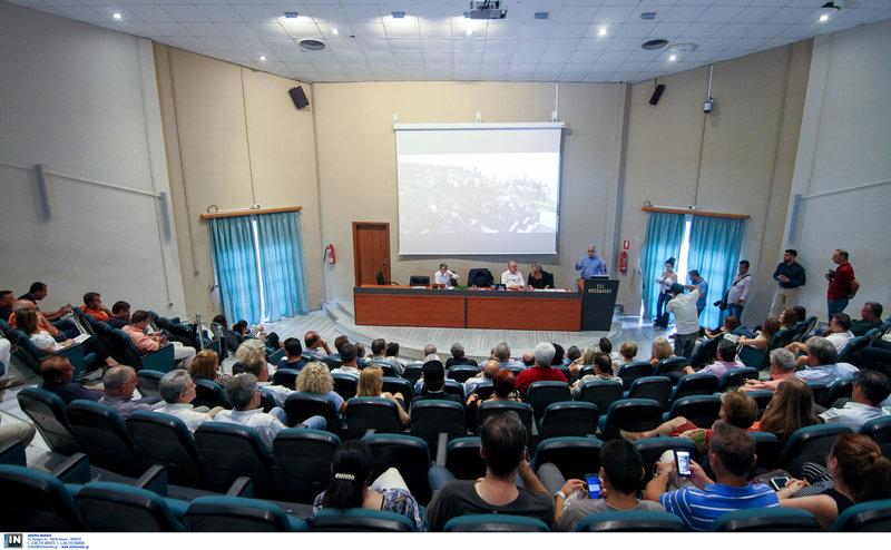 Ο Κώστας Γαβρόγλου στο ΤΕΙ Θεσσαλίας/ Φωτογραφία intime news