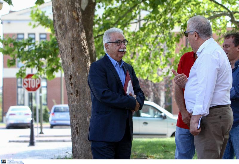 Επίσκεψη του υπουργού Παιδείας στο ΤΕΙ Θεσσαλίας/ Φωτογραφία intime news