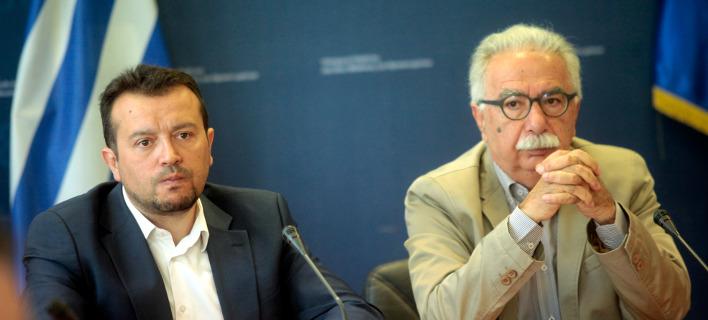 Το πρόγραμμα επιδότησης ανακοινώθηκε από τους Νίκο Παππά και Κώστα Γαβρόγλου μια ημέρα μετά τη δημοσιοποίηση των βάσεων / Φωτογραφία: ΧΡΗΣΤΟΣ ΜΠΟΝΗΣ//EUROKINISSI