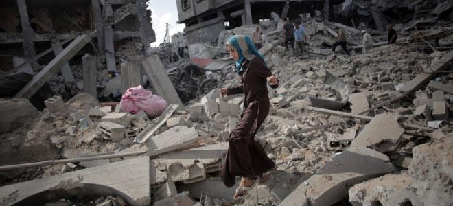 Η φρίκη του πολέμου -η λωρίδα της γάζας