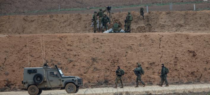 Επεισόδια σημειώθηκαν χθες στη Λωρίδα της Γάζας. Φωτογραφία: AP