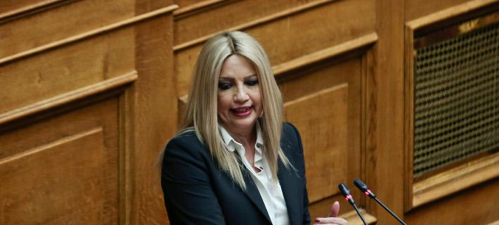 Η Φώφη Γεννηματά δεν βάζει κομματική πειθαρχία στη Συμφωνία των Πρεσπών -Φωτογραφία: Intimenews/ΤΖΑΜΑΡΟΣ ΠΑΝΑΓΙΩΤΗΣ