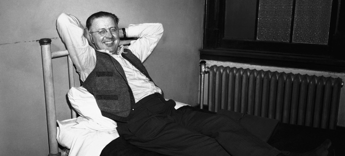 O «τρελός βομβιστής» της Νέας Υόρκης, Τζορτζ Μετέσκι στο κελί της φυλακής το 1953 (Φωτογραφία αρχείου: (AP/AC)