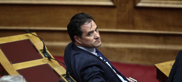 Ο αντιπρόεδρος της Νέας Δημοκρατίας, Αδωνις Γεωργιάδης/Φωτογραφία: Eurokinissi