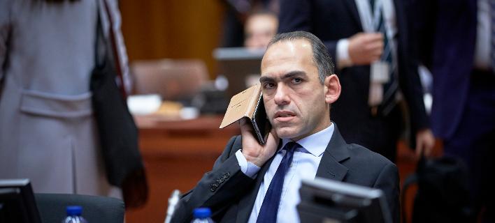 Ο Κύπριος ΥΠΟΙΚ, Χάρης Γεωργιάδης-Φωτογραφία: Eurokinissi