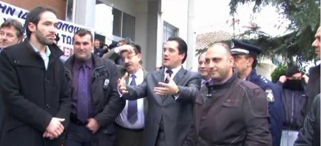 Άδωνις Γεωργιάδης, Ακαδημία Εμπορικού Ναυτικού, αποδοκιμασίες, Νέα Μηχανιώνα, υφ