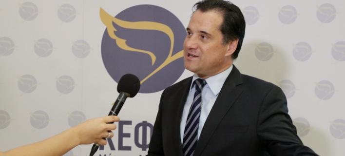 Ο Αδωνις Γεωργιάδης (Φωτογραφία: EUROKINISSI/ ΓΙΑΝΝΗΣ ΠΑΝΑΓΟΠΟΥΛΟΣ)