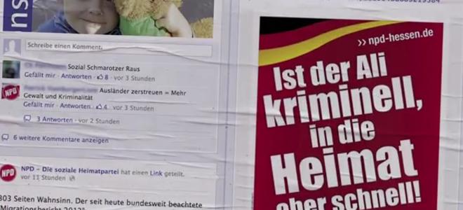 Επίθεση «αγάπης» στην ιστοσελίδα του νεοναζιστικού κόμματος της Γερμανίας -Πάνω