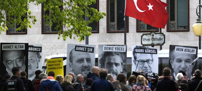Το 61% των Γερμανών δεν θέλει την Τουρκία στην ΕΕ/ Φωτογραφία: Markus Schreiber/ AP