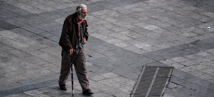 Ηλικιωμένος/Φωτογραφία: Eurokinissi
