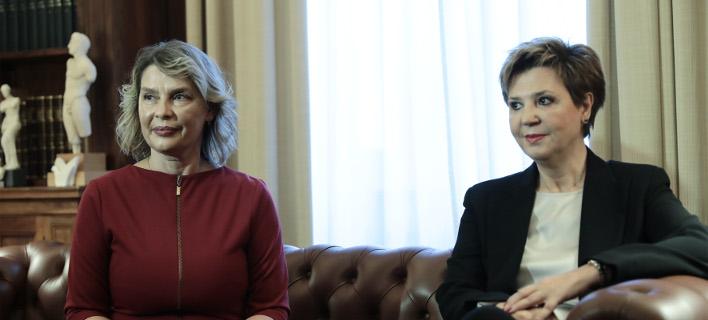 Κρίση στις σχέσεις Παπακώστα (αριστερά) και Γεροβασίλη (δεξιά) για τις κρίσεις στην ΕΛΑΣ -Φωτογραφία: Intimenews/ΛΙΑΚΟΣ ΓΙΑΝΝΗΣ