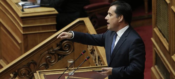 Αδωνις σε ΣΥΡΙΖΑ: Είστε η πιο ζάπλουτη κοινοβουλευτική ομάδα που έχει περάσει στην ιστορία της Βουλής