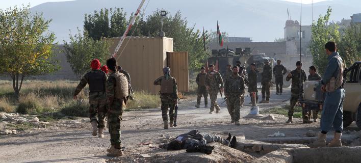 Το στρατηγικής σημασίας Γκάζνι έχει γίνει αρκετές φορές στόχος επιθέσεων των Ταλιμπάν (Φωτογραφία αρχείου: ΑΡ_