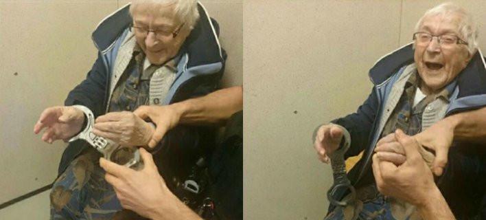 Γιαγιά 99 ετών ζήτησε να συλληφθεί για την εμπειρία [εικόνα]
