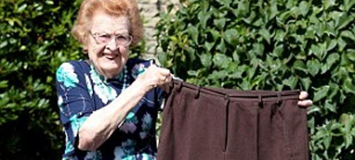 Σούπερ γιαγιά 92 ετών αποφάσισε να γίνει fit: Εχασε 40 κιλά και ξεκίνησε γυμναστήριο και κολύμβηση [εικόνες]