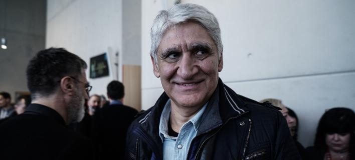 Ο Παναγιώτης Γιαννάκης στην ανακοίνωση νέας δωρεάς του Ιδρύματος Σταύρος Νιάρχος, στην Εθνική Λυρική Σκηνή -Menelaos Myrillas / SOOC