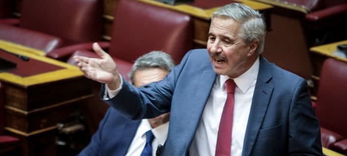 Ο βουλευτής Γιάννης Μανιάτης / Φωτογραφία: EUROKINISSI