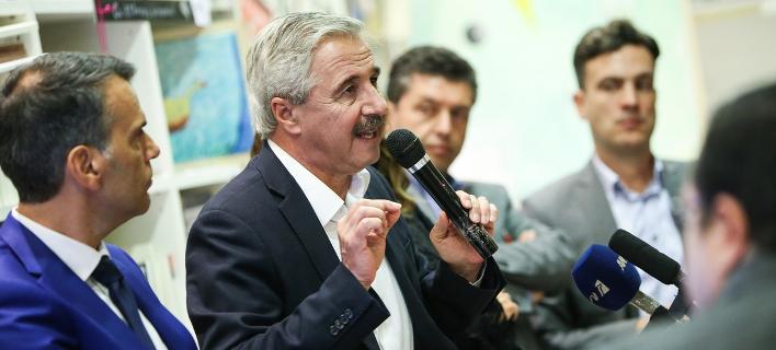 Ο βουλευτής του ΚΙΝΑΛ Γιάννης Μανιάτης / Φωτογραφία: SOOC