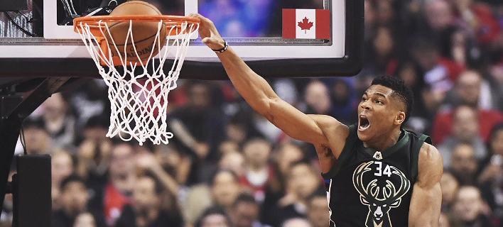 Οι καλύτερες στιγμές του Γιάννη Αντετοκούνμπο φέτος στο NBA [βίντεο]