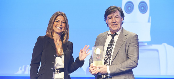 Εκ μέρους της REDS το βραβείο παρέλαβε ο Διευθύνων Σύμβουλος της εταιρείας, κ. Ιωάννης Μωραΐτης