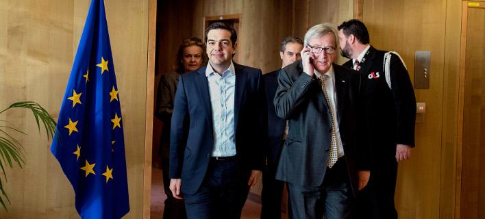Στις Βρυξέλλες ο Τσίπρας -Ο Γιούνκερ θα του δώσει την πρόταση των θεσμών