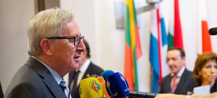 Ο πρόεδρος της Κομισιόν, Ζαν Κλοντ Γιούνκερ/Φωτογραφία: AP