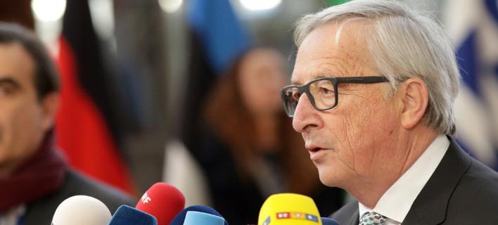 O πρόεδρος της Κομισιόν, Ζαν Κλοντ Γιούνκερ/Φωτογραφία: ΑΡ