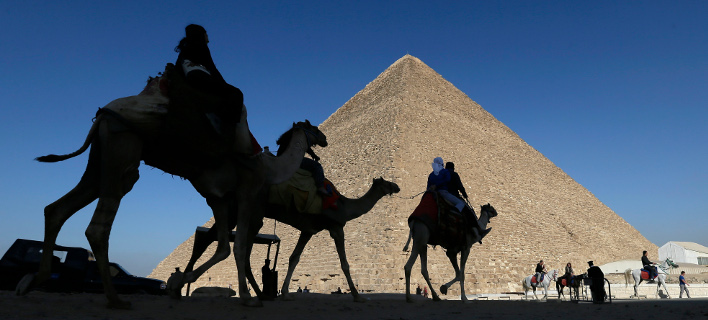 The Great Pyramid of Giza can collect electromagnetic energy