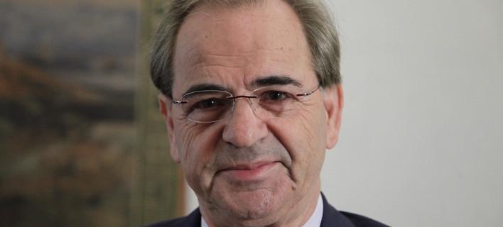 Ο πρόεδρος της ΕΚ, Χαράλαμπος Γκότσης/Φωτογραφία: Eurokinissi