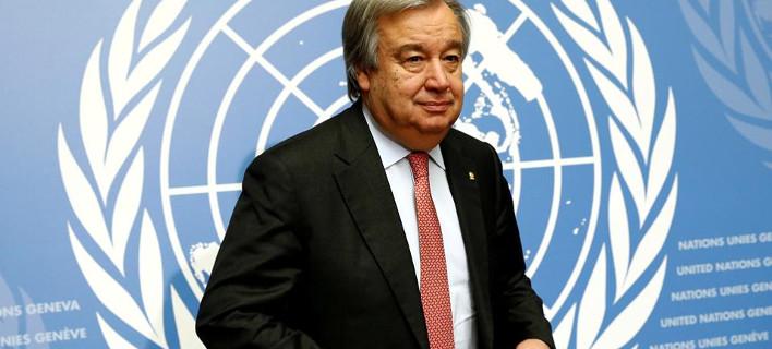 Ο Γκουτέρες του ΟΗΕ εκφράζει τη... λύπη του για την ένταση στην κυπριακή ΑΟΖ