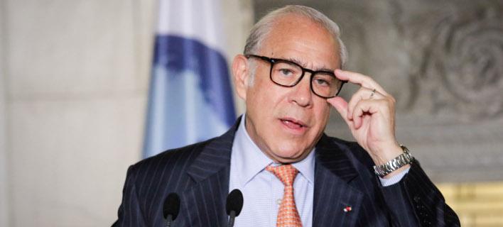 Ο γενικός γραμματέας του ΟΟΣΑ, Ανχελ Γκουρία/Φωτογραφία: Eurokinissi
