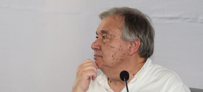 O γενικός γραμματέας του ΟΗΕ Αντόνιο Γκουτέρες/Φωτογραφία: AP