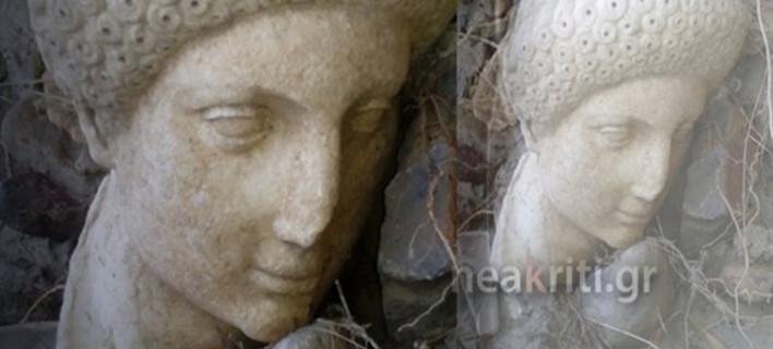 Κρήτη: Η κακοκαιρία «ξέθαψε» αρχαιολογικό θησαυρό -Τον βρήκε ένας αγρότης [εικόνα]