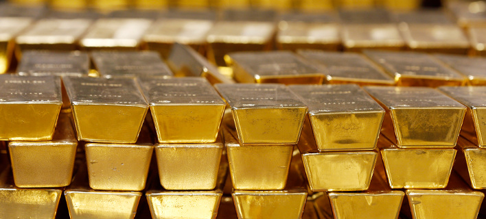 Οι ράβδοι χρυσού υπάρχουν παντού στην εταιρεία Barid & Co. Φωτογραφία: AP
