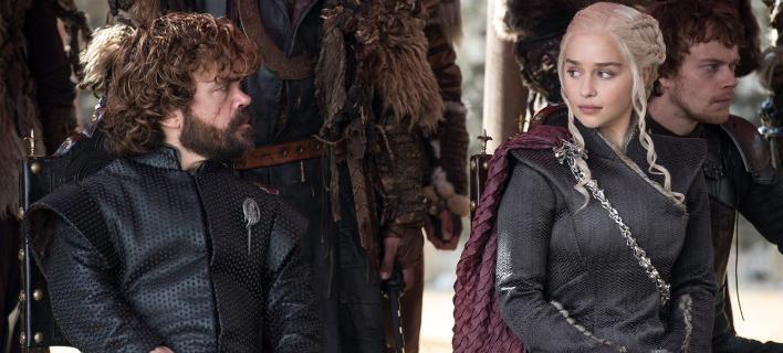 Πρωταγωνιστές της δημοφιλούς σειράς, Emilia Clarke και Peter Dinklage (πηγή: HBO)