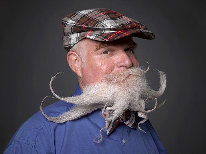 Απίστευτος διαγωνισμός για μουστάκια και μούσια στη Νέα Ορλεάνη [εικόνες]