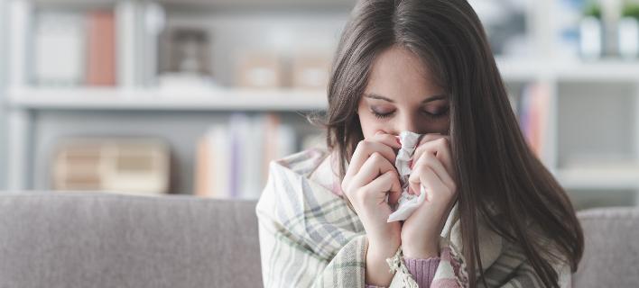 Πολλοί μαθητές απουσιάζουν λόγω της γρίπης (Φωτο: Shutterstock)