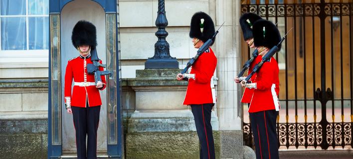 Η βασιλική φρουρά /Φωτογραφία: Shutterstock