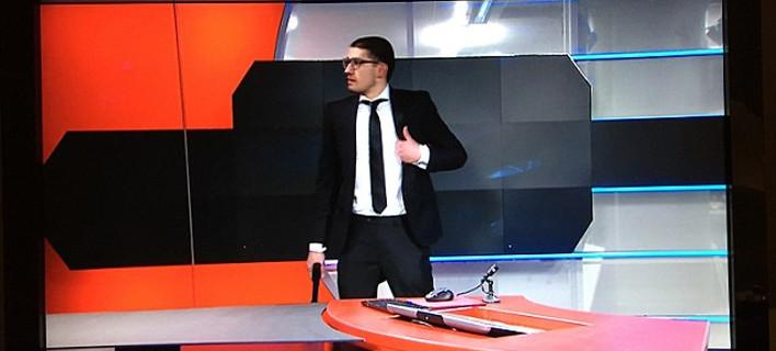Eνοπλος εισέβαλε στα στούντιο της ολλανδικής κρατικής τηλεόρασης - Συνελήφθη μπροστά στην κάμερα [βίντεο]