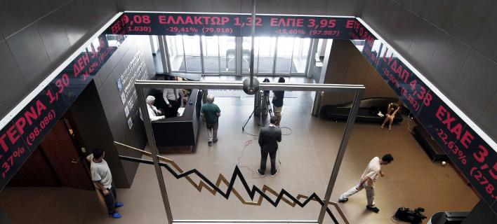 Ισχυρές απώλειες στο Χρηματιστήριο: Στο επίκεντρο οι τραπεζικές μετοχές