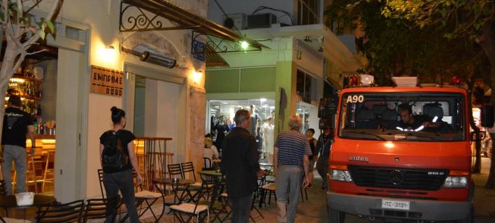 Εκρηξη σε εστιατόριο στα Χανιά-Δύο τραυματίες
