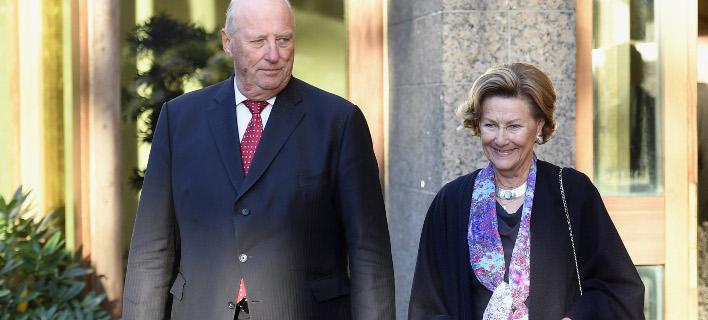 «Πέθαναν» κατά λάθος τον βασιλιά της Νορβηγίας (Φωτογραφία: AP/ Heikki Saukkomaa)