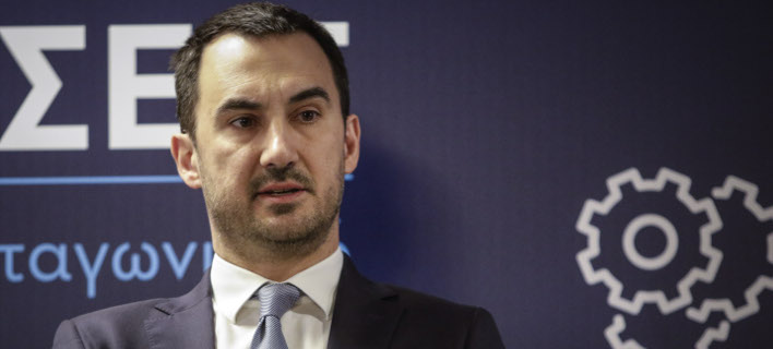 Ο αναπληρωτής υπουργός Οικονομίας και Ανάπτυξης, Αλέξης Χαρίτσης/ Φωτογραφία: Eurokinissi
