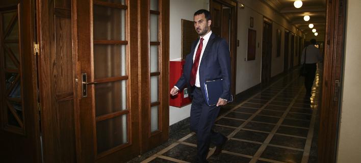 Ο αναπληρωτής υπουργός Οικονομίας και Ανάπτυξης, Αλέξης Χαρίτσης/Φωτογραφία: Eurokinissi